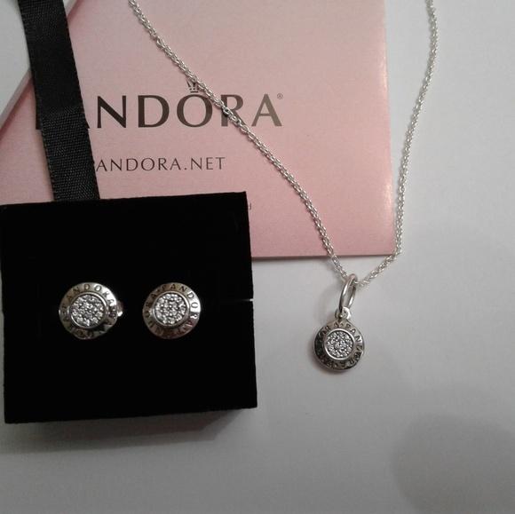 30c8f757e 3 pieces authentic signature earring charm and cha.  M_5c0715f912cd4ad1f8f1e3c6. Other Jewelry you may like. Pandora necklace